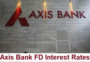 Axis Bank FD Interest Rates