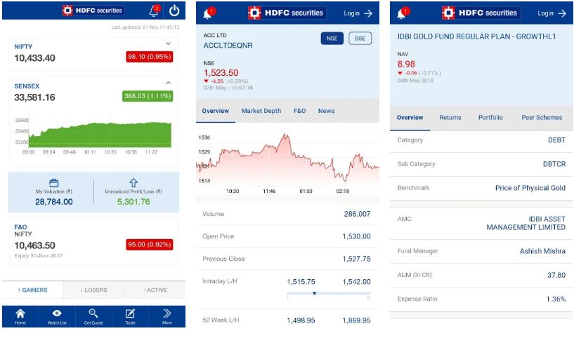 HDFC Mobile App