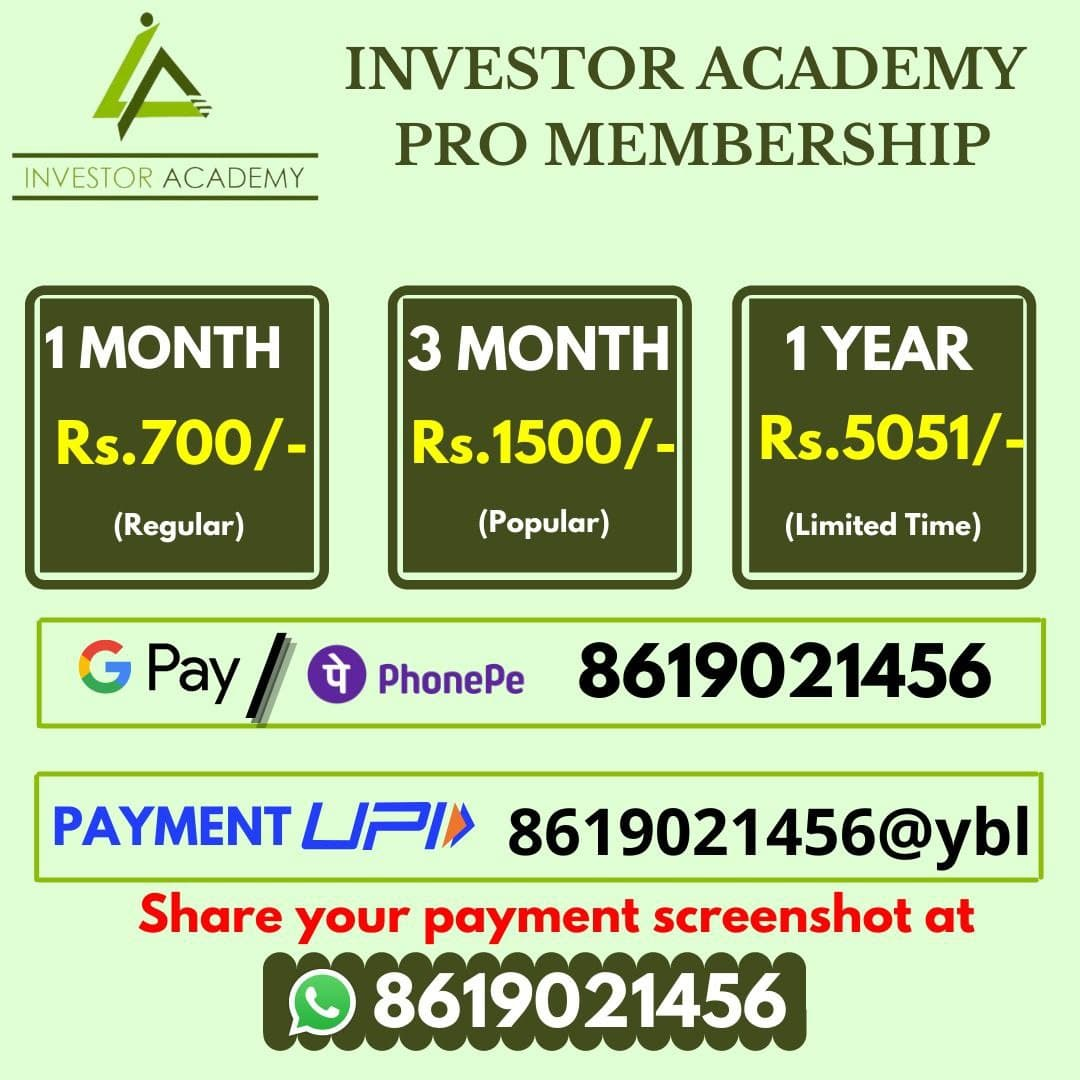 Investor Academy Membership