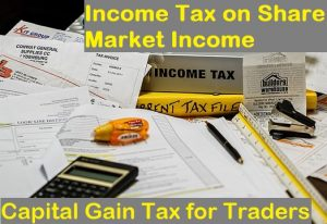 Income Tax on Share Market Income