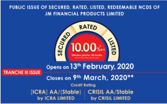 JM Financial NCD Feb 2020
