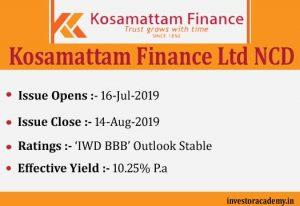 Kosamattam Finance NCD
