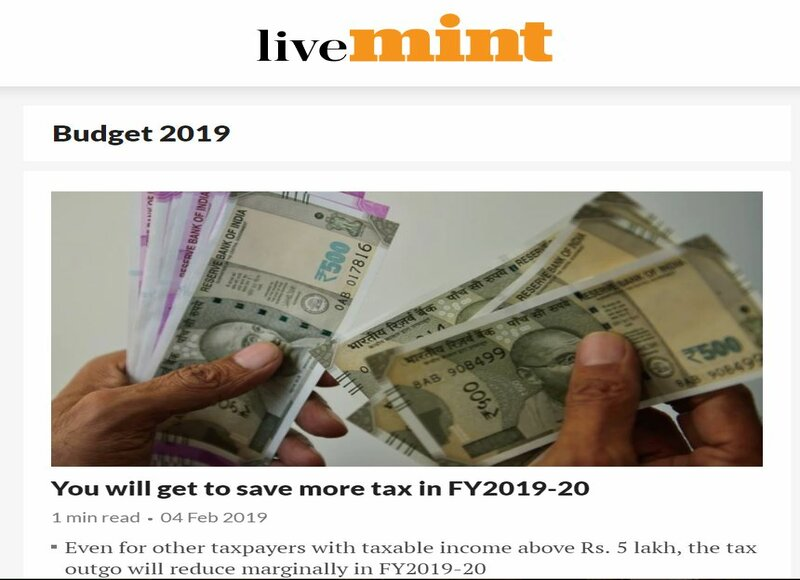 Livemint Website