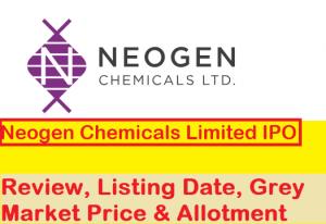 Neogen Chemicals IPO