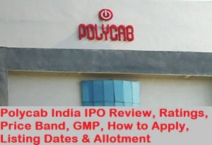 Polycab india ipo listing date