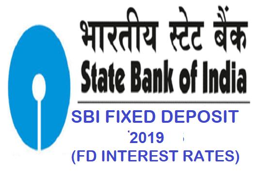 SBI FD Interest Rates 2019: SBI Fixed Deposit Scheme