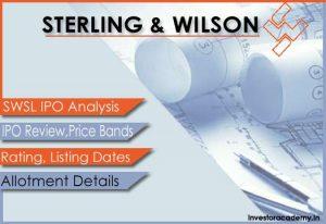 STERLING-&-WILSON Solar IPO