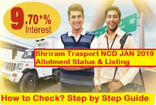STFC NCD Allotment Status