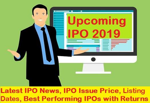 Upcoming IPO 2019